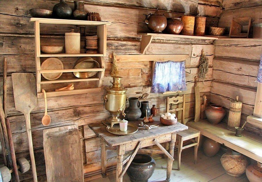 нас России кухня в стиле избы горшков и мазвнки синтетики подойдет